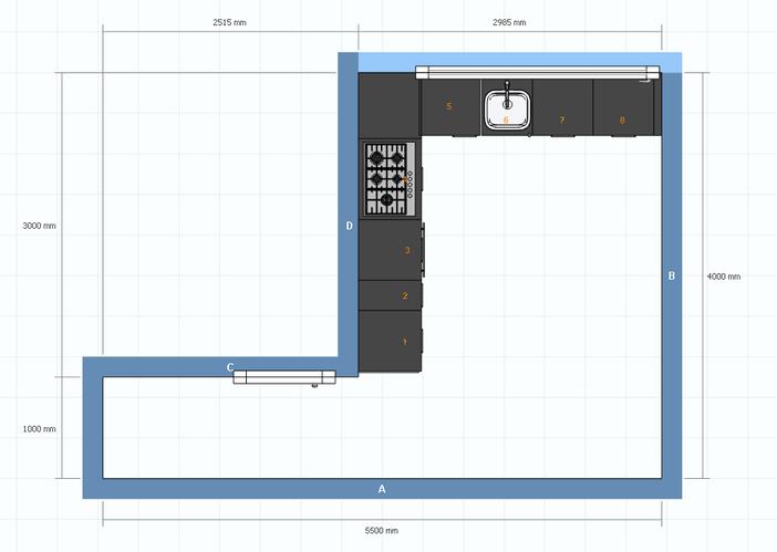 Ikea keuken 3 x 3 meter werkspot - Meubels keuken beneden cm ...