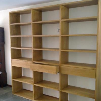 Open eiken boekenkast bouwen - Werkspot