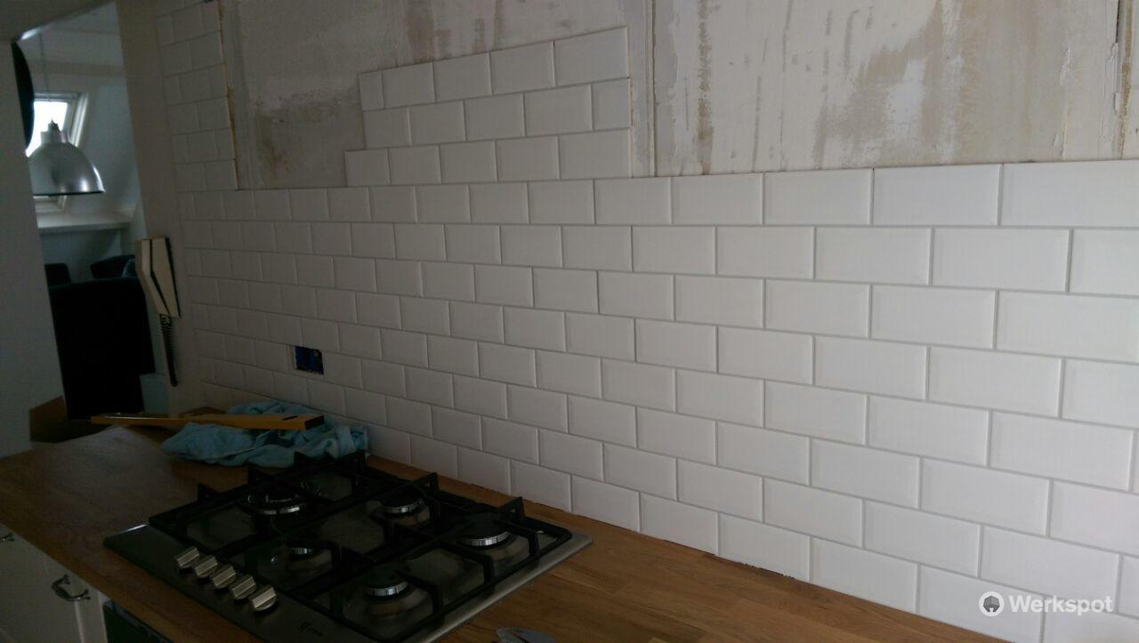 keuken tegels vervangen : Metro Tegels Plaatsen Keuken Werkspot
