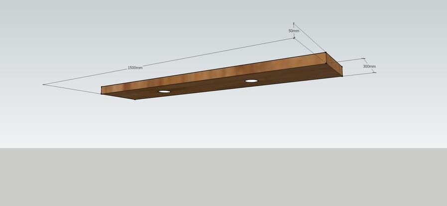 Houten Plank Aan Muur Bevestigen.Plank Met Blinde Bevestiging Aan Muur Werkspot