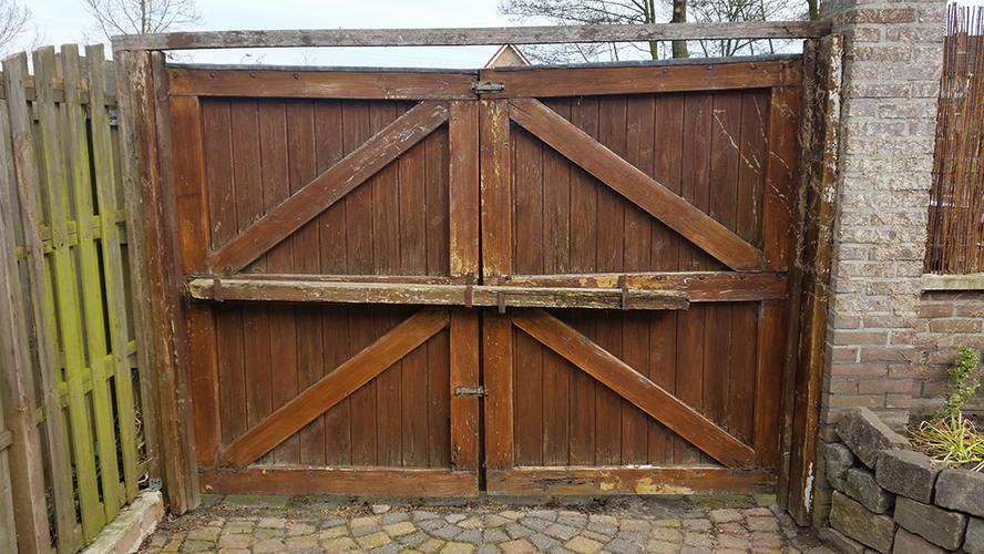 Uitzonderlijk maken en vervangen houten tuindeur & poort - Werkspot #NL23