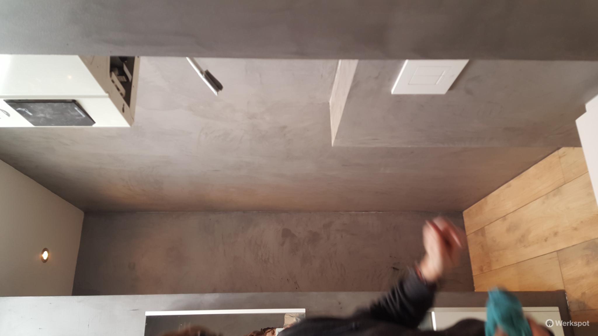 Stucen met cementgebonden mortel for Wat kost stucen per m2
