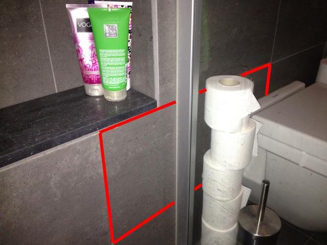 Losse tegel in douche opnieuw vastzetten en voegen werkspot - Opnieuw zijn toilet ...