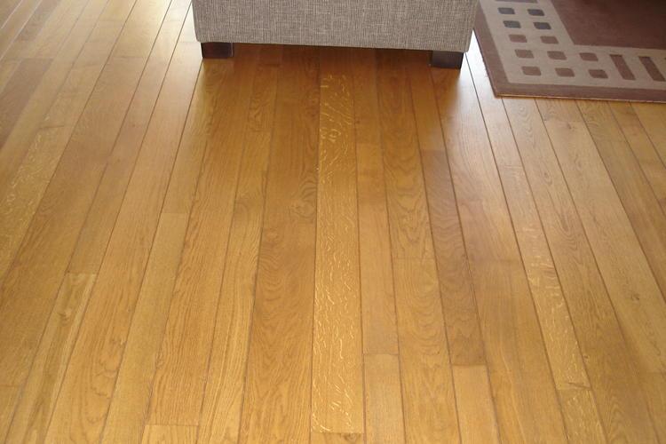 Massief eiken vloer verlengen en schuren werkspot