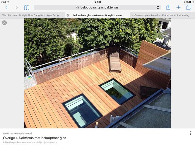 Bekend Houten vlonder achter huis en op dakterras - Werkspot DE88
