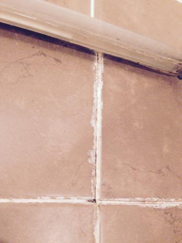 Herstellen voegen badkamer werkspot - Tegels van cement saint maclou ...