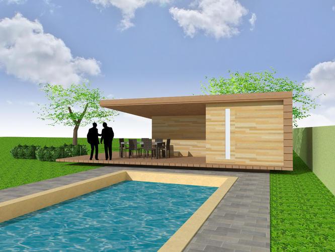 Bouw tuinhuis werkspot - Bouw een overdekt terras ...