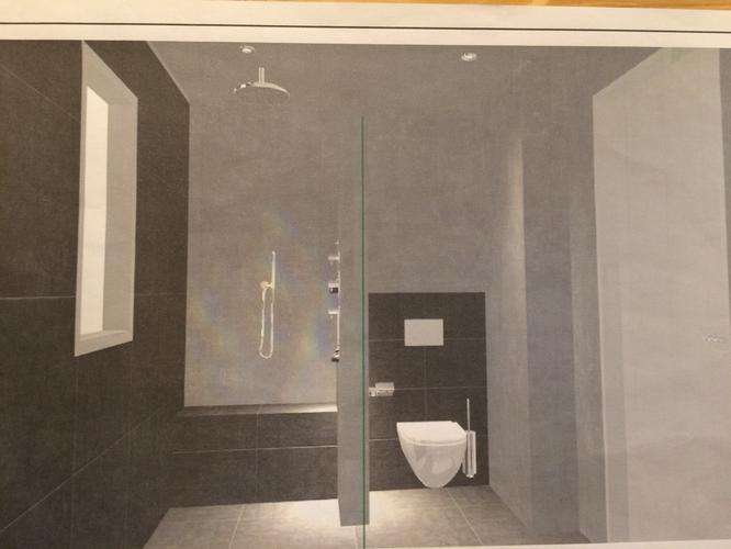 Nieuwe badkamer toilet maken in nieuwbouw huis werkspot for Tekening badkamer maken