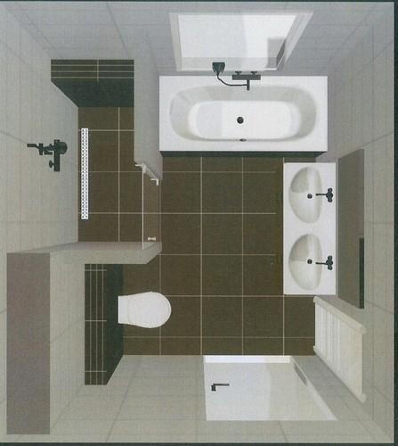 Badkamer + toilet nieuwbouwwoning betegelen - Werkspot