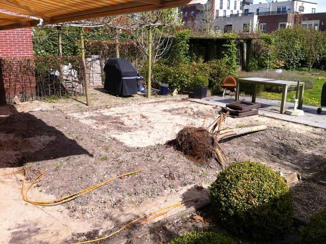 Zelf Tuin Leeghalen : Tuin leeg halen afvoeren en egaliseren. werkspot