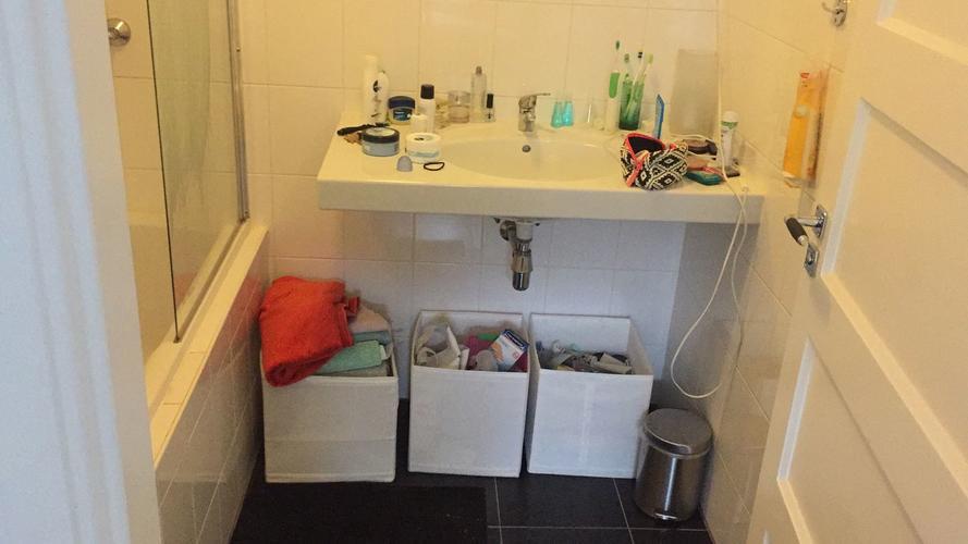 Kast maken onder wastafel badkamer werkspot
