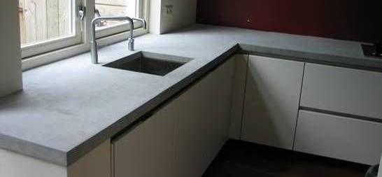 Aanrechtblad maken beton cire werkspot for Zelf keukenontwerp maken