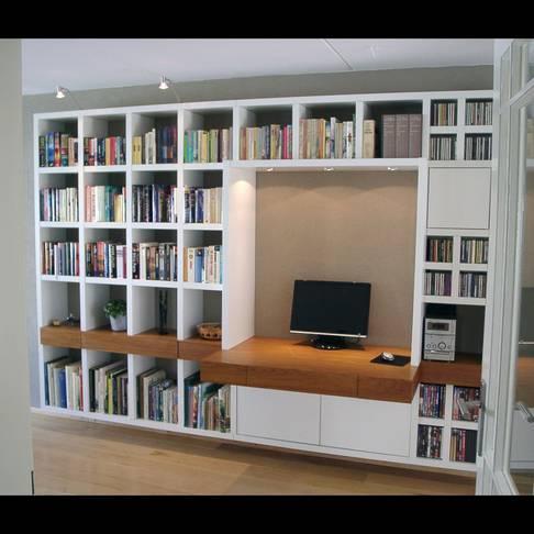 Boekenkast inclusief ingebouwd bureau - Werkspot