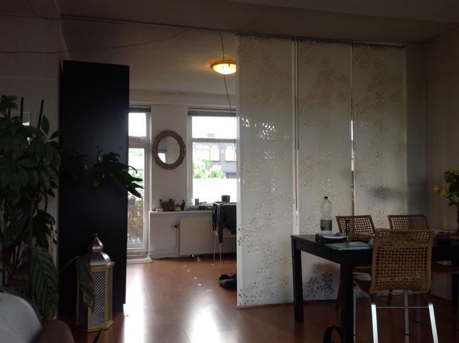 glazen scheidingswand in woonkamer - werkspot, Deco ideeën