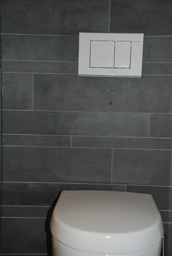 Betegelen van een wc werkspot - Voorbeeld toilet ...