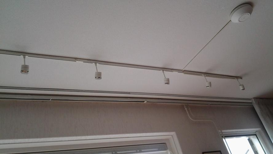 Koof Met Led Inbouwspots Bediening Dmv Dimmer Plafond En Koof