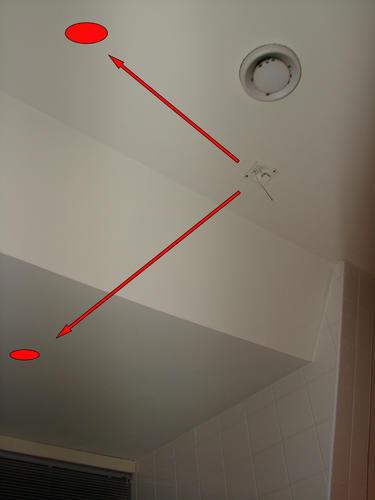 plaatsen inbouwspots en verplaatsen lichtpunten - Werkspot