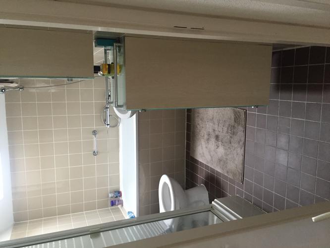 Badkamer Nieuw Betegelen : Badkamer opnieuw betegelen nieuwe douche gootje plaatsen en