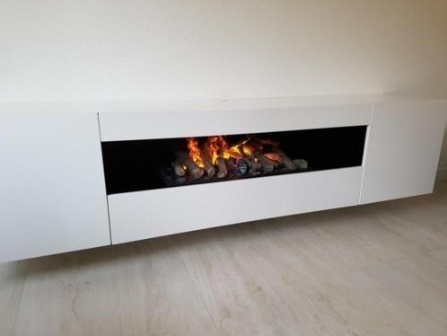 Sfeerhaard Tv Meubel : Tv meubel met elektrische sfeerhaard zwevend. werkspot