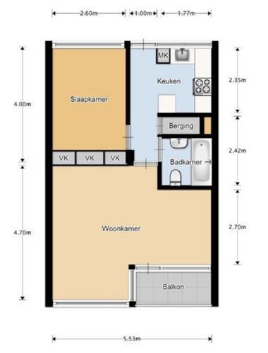 Verbouwing kleine badkamer in appartement - Werkspot