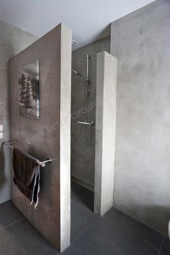 Opbouw muur voor douche werkspot - Douche italiaanse muur ...