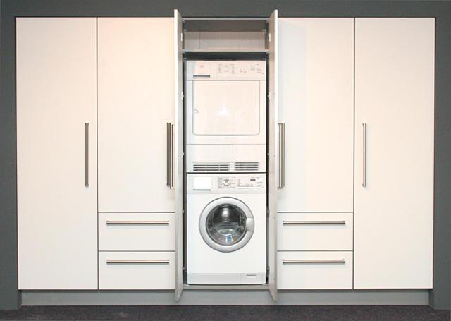Kast Wasmachine Droger : Kast om wasmachine en droger op maat wasmachine