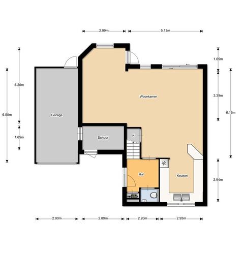 Tekening en bestek maken voor verbouw van garage naar for Tekening badkamer maken