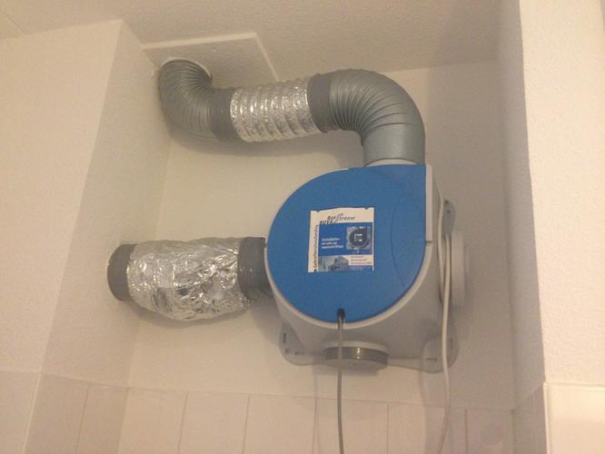 Afdichting Mechanische Ventilatie maken in badkamer - Werkspot
