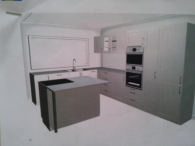 L Vorm Keuken : Ikea l vorm keuken plus eiland werkspot