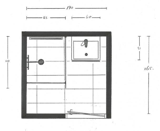 plaatsen kleine badkamer werkspot