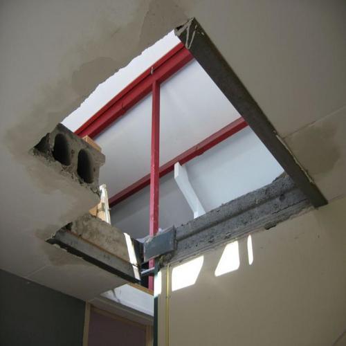 Trapgat in beton maken trap leveren en plaatsen oude for Trap mooi maken
