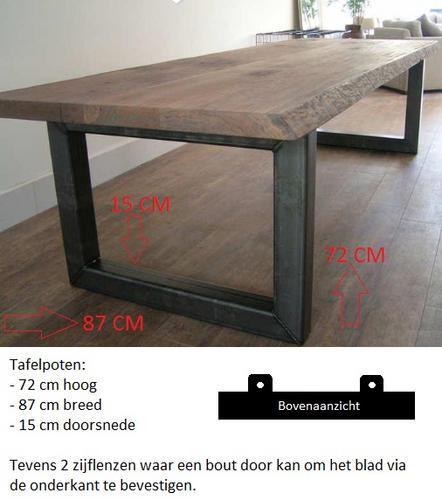 Metalen onderstel lassen voor tafel werkspot for Stalen onderstel tafel laten maken