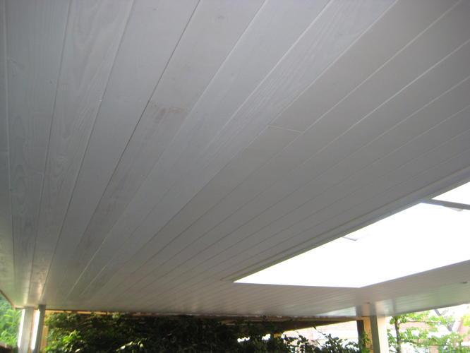 Schilderen binnen- en buitendeuren en plafond carport - Werkspot