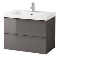 Ikea Kranen Badkamer : Ikea badkamer wastafel incl kraan monteren en bijbehorende hoge ka