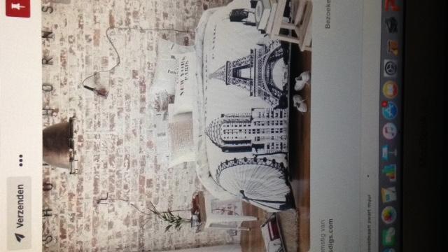 Stenen Muur Vernissen : White wash bakstenen muur woonkamer werkspot