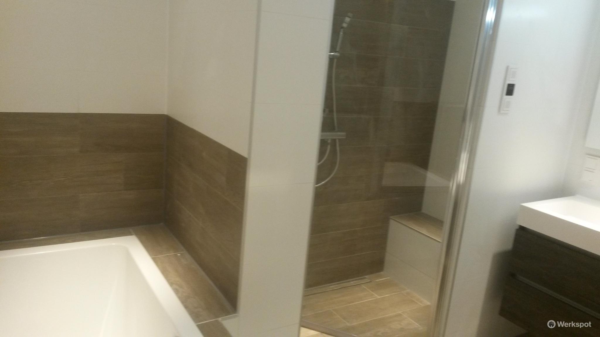Volledige verbouwing badkamer werkspot