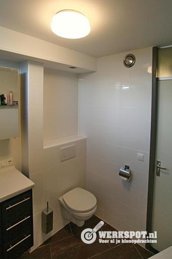 Badkamer 2x2 m vernieuwen - Werkspot