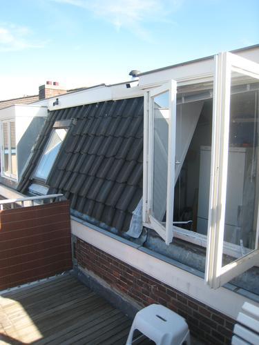 rookkanaal doorvoer door het dak aanleggen