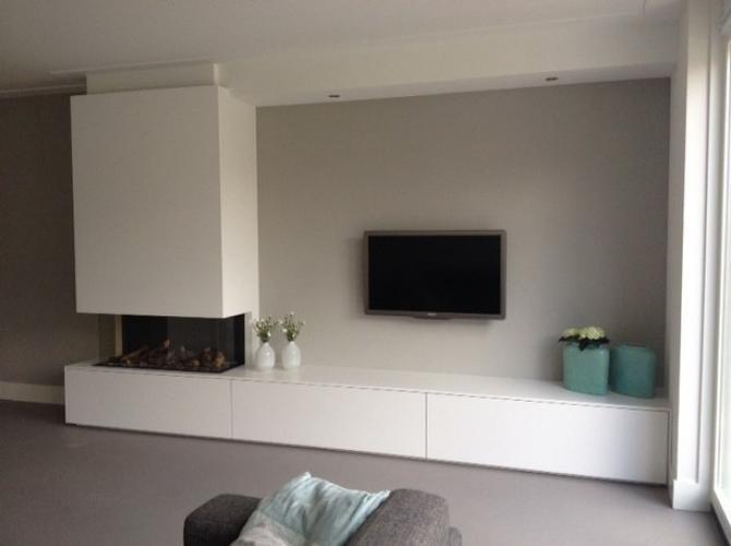 Beroemd Openhaard meubel / TV meubel - Werkspot @SI16