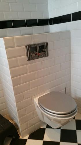 Zeer binnenwerk hangend toilet repareren of vervangen - Werkspot RT71