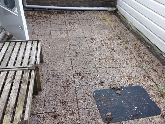 Extreem Tegels van balkon halen en nieuwe bedekking (bitumen?) maken VS09