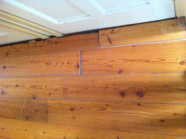 Houten vloer herstellen werkspot