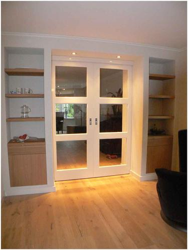 En suite style boekenkasten - Werkspot