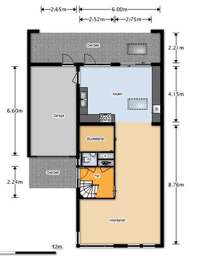 Binnenmuur schuif deuren plaatsen afscheiding keuken woonkamer werkspot - Afscheiding glas keuken woonkamer ...