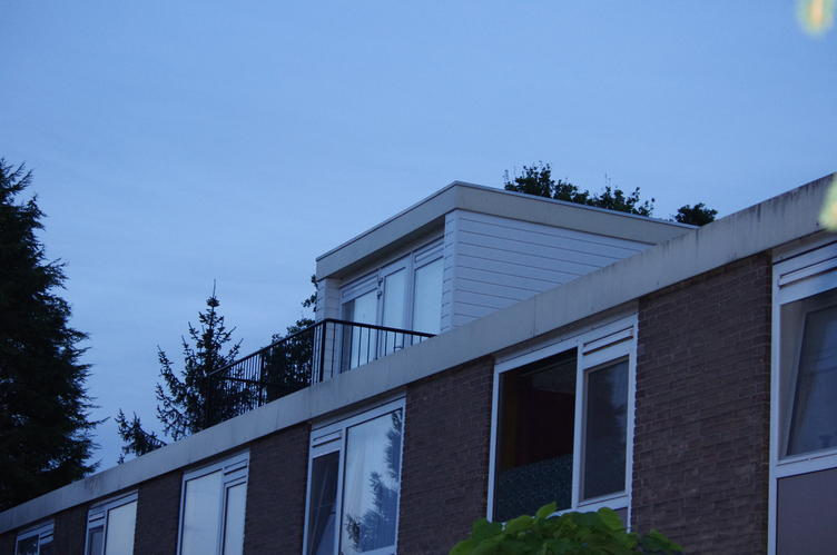 Dakopbouw plat dak werkspot for Vaste trap ipv vlizotrap