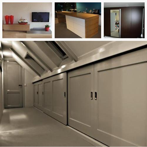 Kasten onder schuin dak maken werkspot - Kantoor onder het dak ...