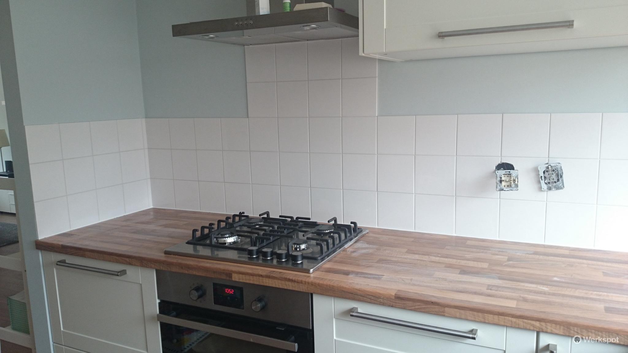 keuken tegels afkitten : Wandtegels Keuken Afkitten Keuken Ca 2 5 M2 Werkspot