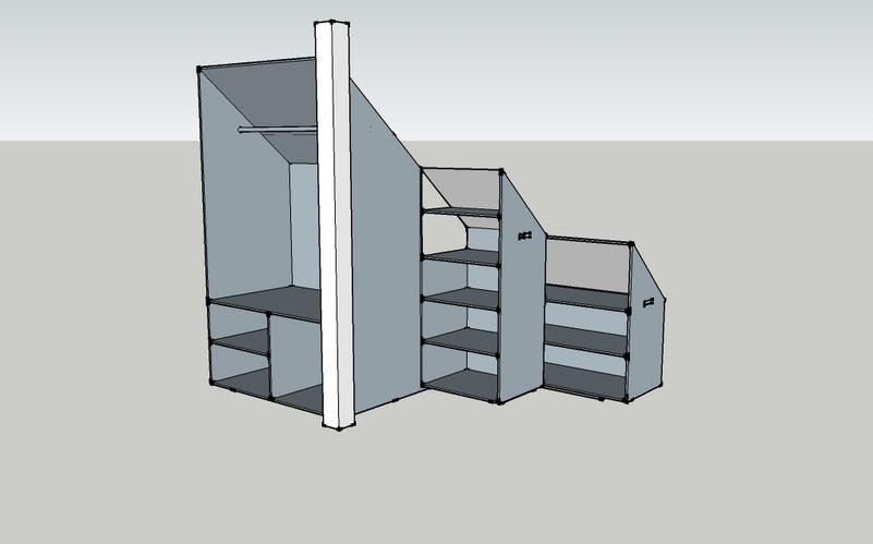 Kast In Trap : Kastsysteem delig onder trap werkspot