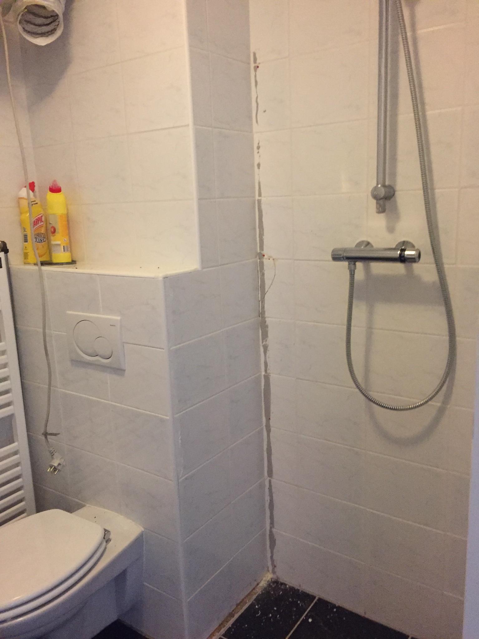 Muurtje badkamer maken - Werkspot