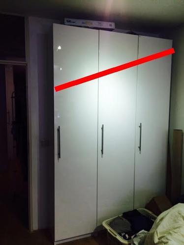 Wandkast Op Maat Ikea.Ikea Pax Kasten Op Maat Zagen Schuifdeuren Inkorten En